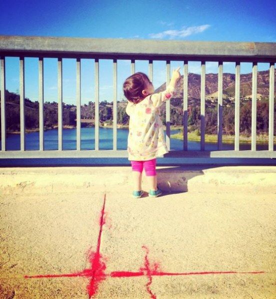 Ashton Kutcher aurait-il dévoilé une photo de sa fille sur Instagram ?
