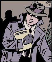 """In het boek is er een geheime dienst die actief is over heel Europa, net als bijvoorbeeld de FBI in de Verenigde Staten. Het draagt de naam ESSE; European Secret Service/Service Secret Européen; ook wel """"de Dienst""""."""