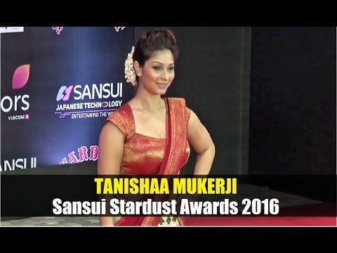 Tanishaa Mukerji @ Stardust Awards 2016 | Bollywood News Villa.