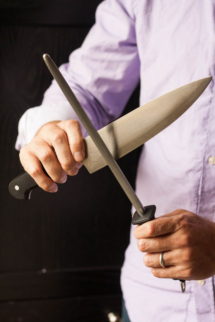 This Tool Does Not Actually Sharpen Your Knife. Here's What a Steel Really Does