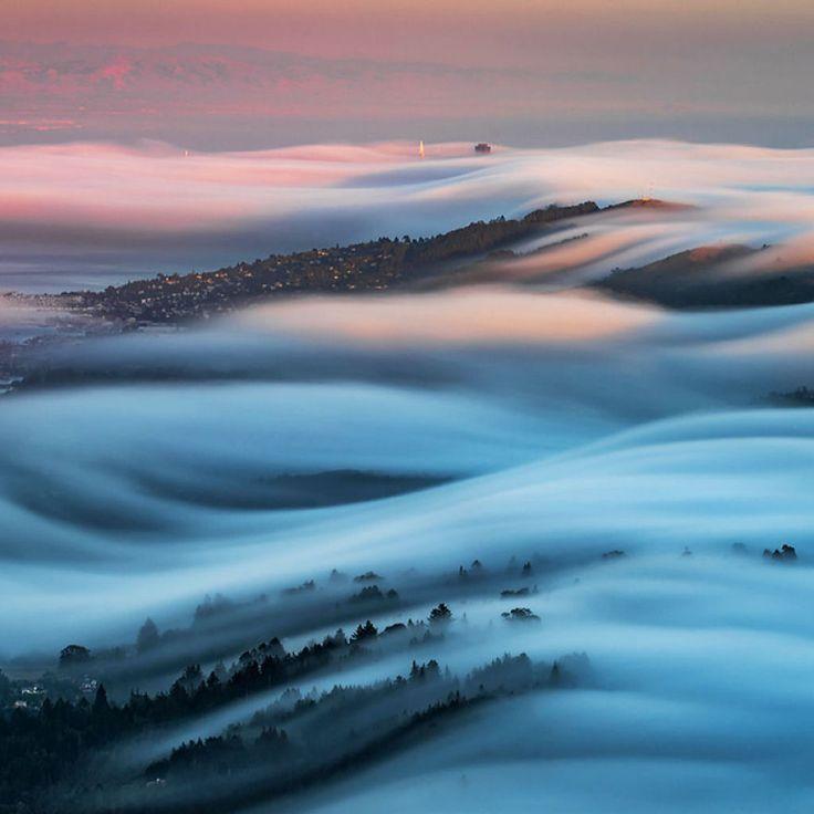 As oníricas ondas de nevoeiro registradas pelo fotógrafo Nick Steinberg 03