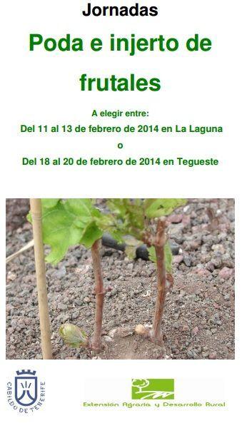 JORNADAS GRATUITAS PODA E INJERTO DE FRUTALES ecoagricultor.com: