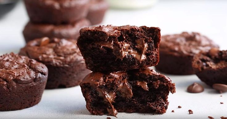 Un muffin sans farine, sans beurre et presque sans sucre!