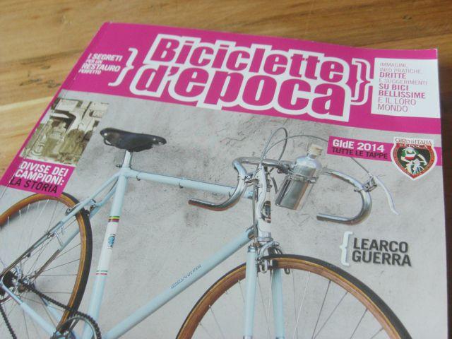 """Carta canta: Ciclografica è (più o meno) su """"Biciclette d'epoca""""! #bike #magazine #cover #rivista #vintage"""