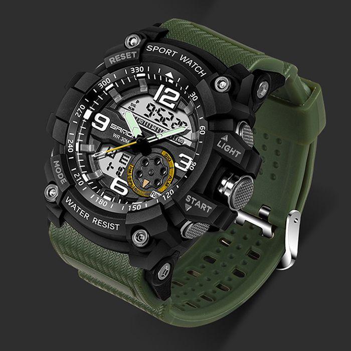 Electronic Accessories Sanda 759 Military Watch Men Waterproof Sport Watch Mens Watches Top Brand Luxury Diving Watch Saat Hodinky Relogio Masculino Reloj De Buceo Reloj De Hombre Marca De Lujo