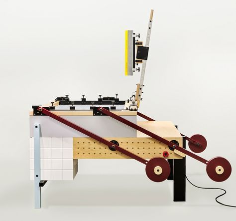 A Screen-printing Press That's Quite Possibly More Beautiful Than the Prints It Makes | AIGA Eye on Design