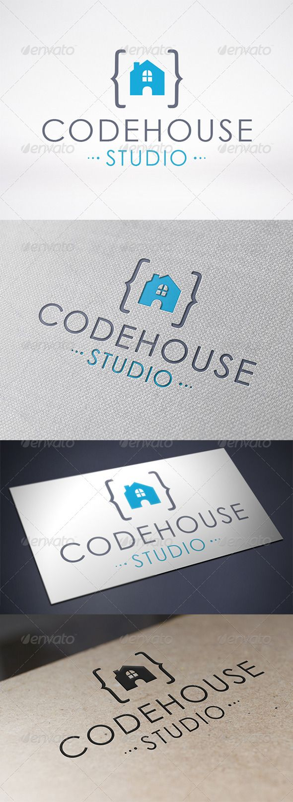 Code House Logo Design Template Vector #logotype Download it here:  http://graphicriver.net/item/code-house-logo-template/6524543?s_rank=672?ref=nexion