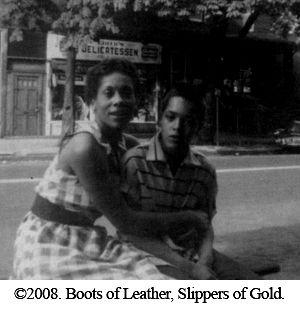 Vintage black lesbian
