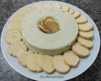 Mousse de Gorgonzola - Na Biroskinha