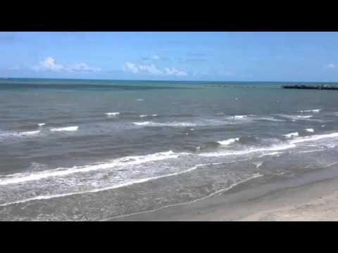 El muelle de Puerto Cabezas