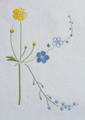 Field flowers alphabet - K – French Needlework Kits, Cross Stitch, Embroidery, Sophie Digard – The French Needle