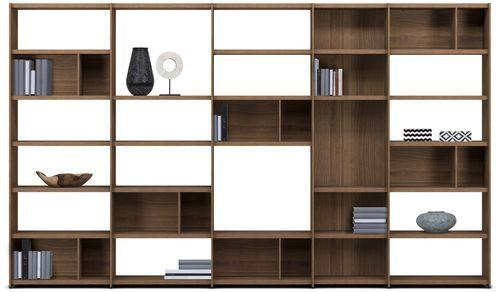 Contemporary bookcase / MDF / custom MEDA by Morten Georgsen BoConcept