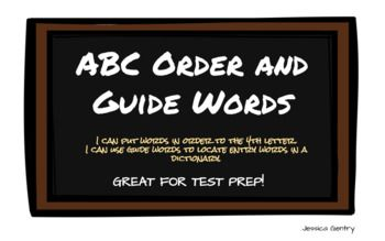Use this Google Slides task as a small group lesson, independent assessment, or TEI Test Prep. Students put words in ABC order up to the 4th letter, use guide words to determine if a word would fit in that dictionary page, and use a dictionary entry to write sentences using the different definitions for the word.