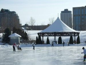 centennial lakes winter ice festival, Edina MN