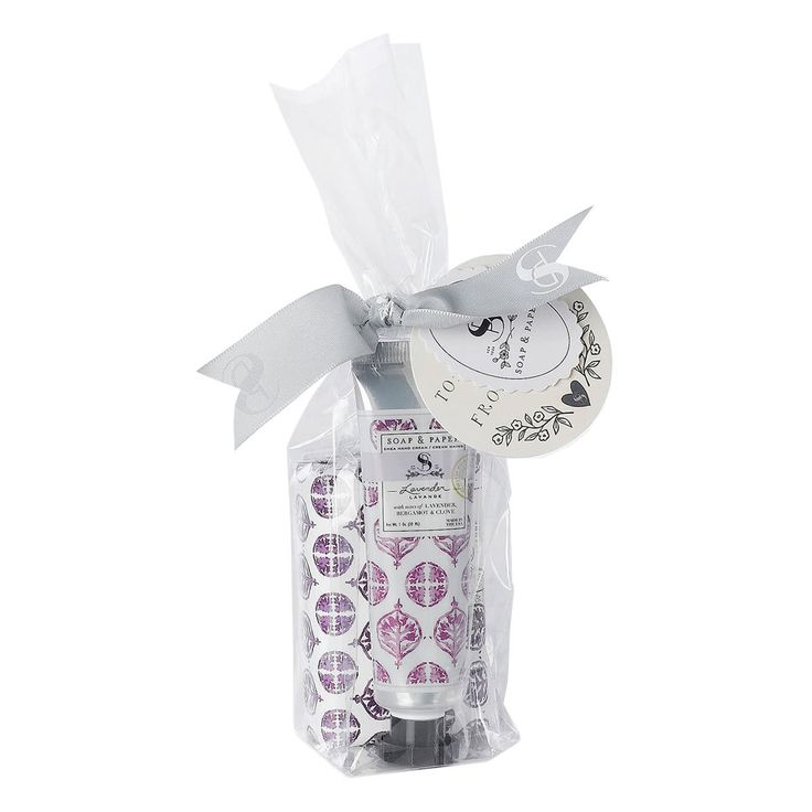Lavender Shea Butter Gift Set by SOAP + PAPER FACTORY