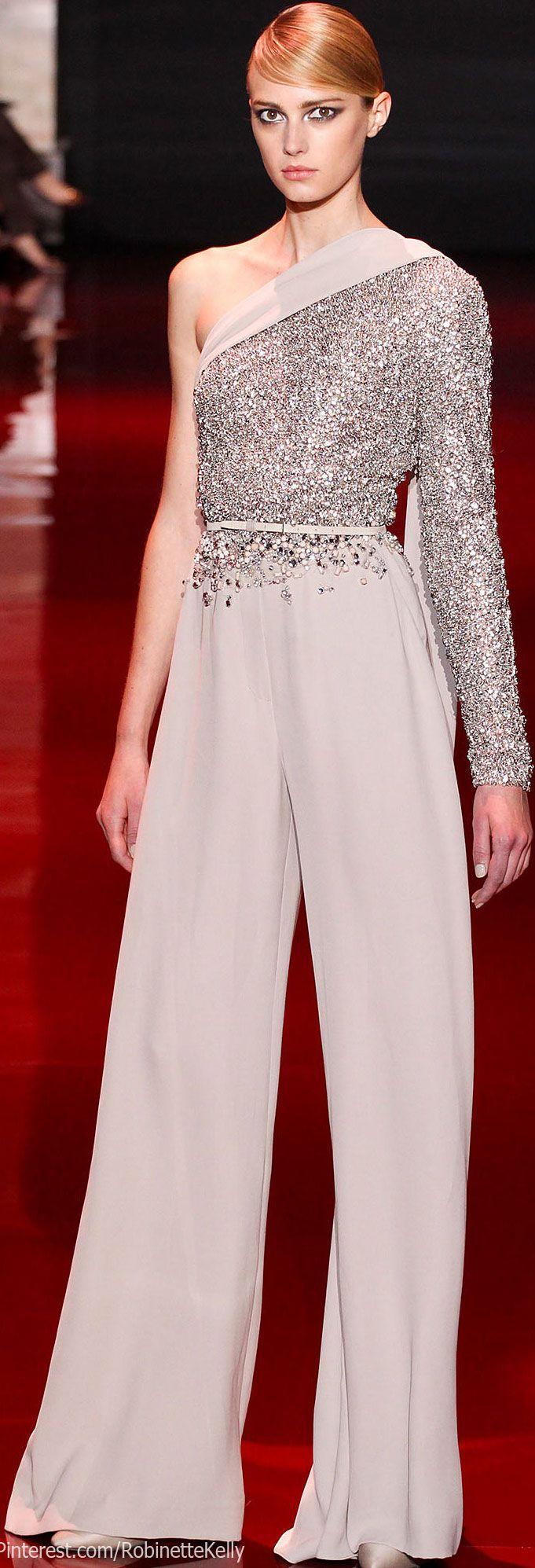 Elie Saab Haute Couture   F/W 2013                                                                                                                                                      Más