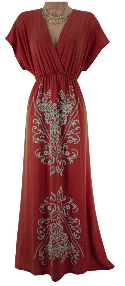 2X 18 20 NEW SEXY Women CORAL MAXI DRESS Spring Summer Vacation Cruise PLUS SIZE #LoveCameronLosAngeles #Maxi #Summer