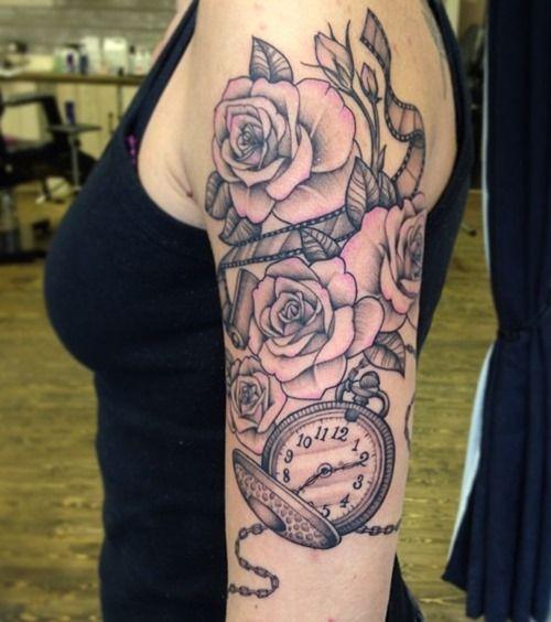 Arm Rose Tattoos for Women   Tattoos for Women   Pinterest