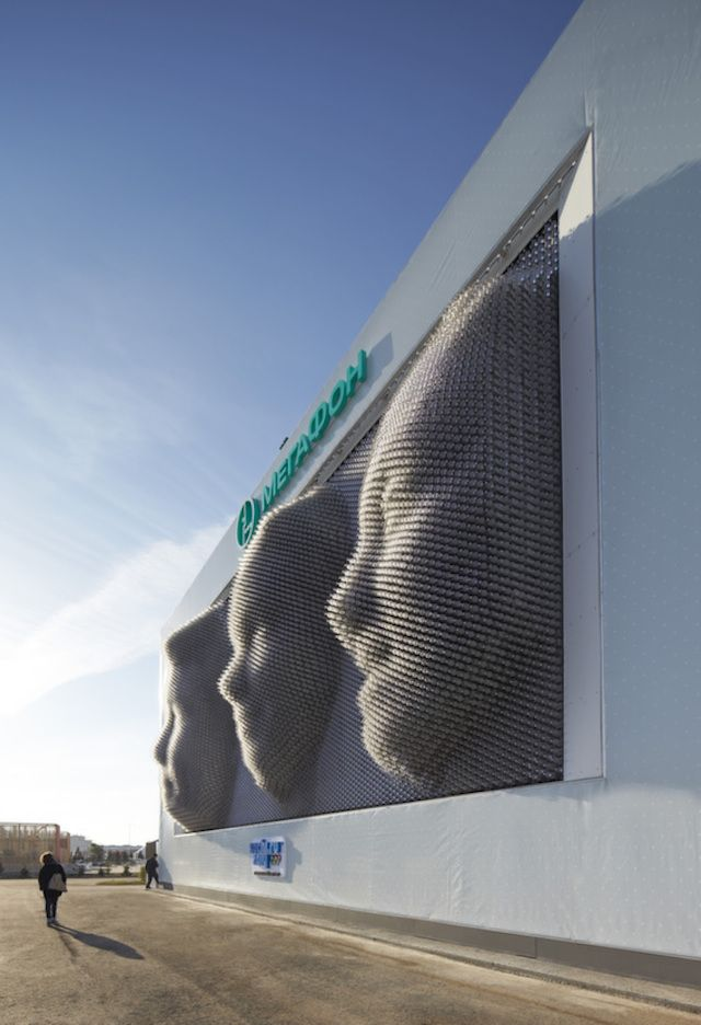 Giant physical 3d selfies for Sochi !