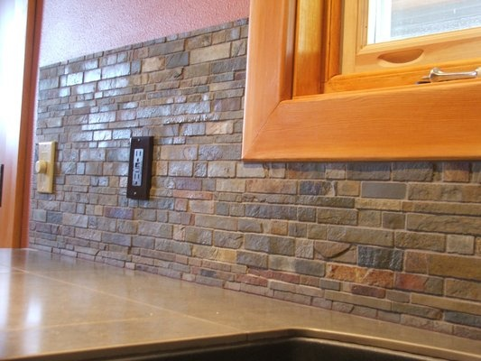Slate Stone Julie : Best images about backsplash on pinterest oak