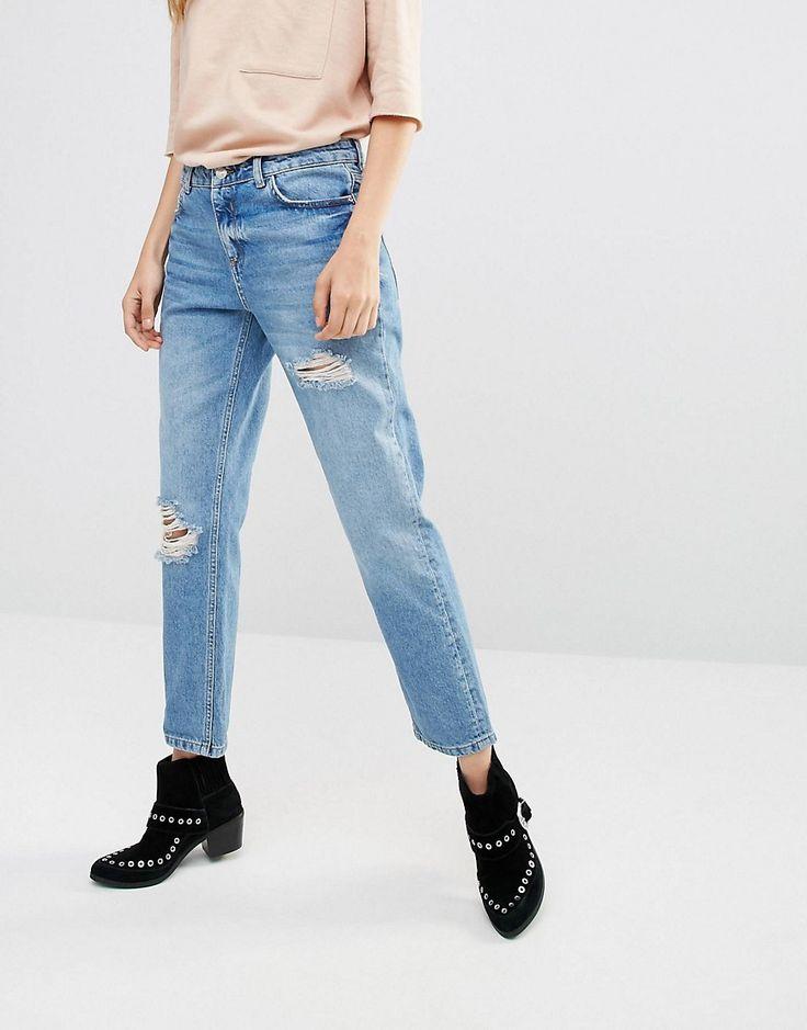 Pimkie+Distressed+Mom+Jeans