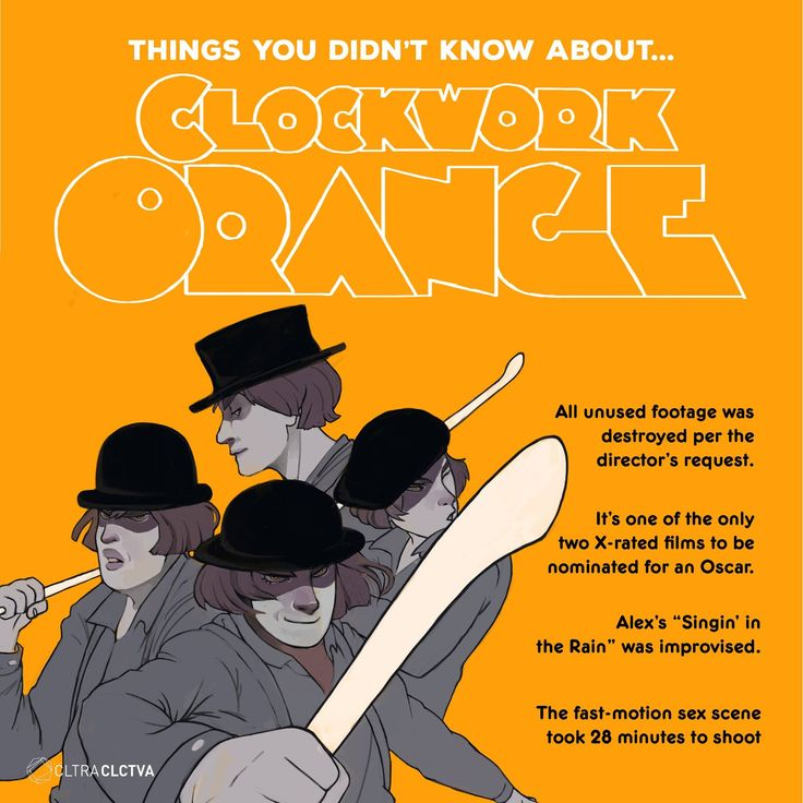 """""""It's funny how the colors of the real world only seem really real when you viddy them on the screen."""" - Clockwork Orange"""