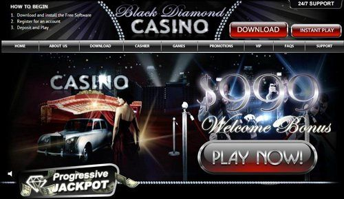 black diamond casino sign up bonus