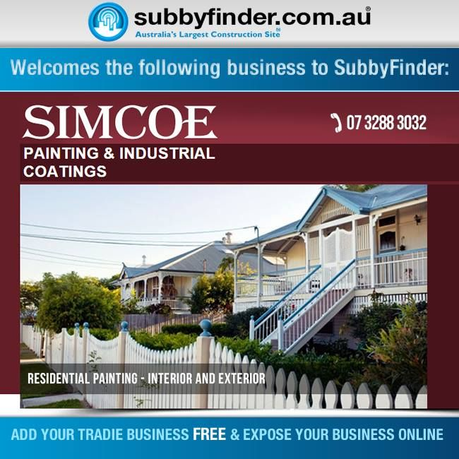 It's FREE to register your Tradie business on Subbyfinder.com.au Building your SubbyFinder profile is quick and easy. Fill out your industry experiences, industry type and any other forms of expertise in your industry. #subbyfinder #painting #industrialCoatings