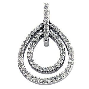 14K White Gold 0.67cttw Round Diamond Pendant Jewelry Pot. $1467.99. Your item will be shipped the same or next weekday!. 30 Day Money Back Guarantee. Fabulous Promotions and Discounts!. All Genuine Diamonds, Gemstones, Materials, and Precious Metals. 100% Satisfaction Guarantee. Questions? Call 866-923-4446. Save 36% Off!