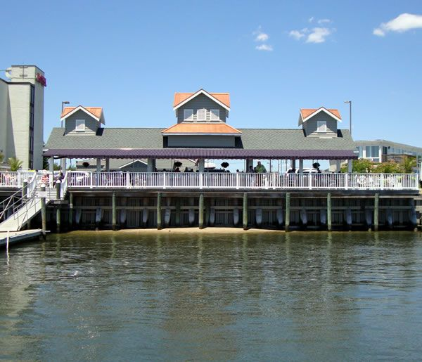 Peaceful Places In Nj: Crabby Jack's Is Located On The Bay Just Behind The Crab