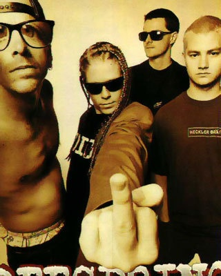 The Offspring --Music Video:   http://m.youtube.com/index?#/watch?v=7OZWJbx13ns