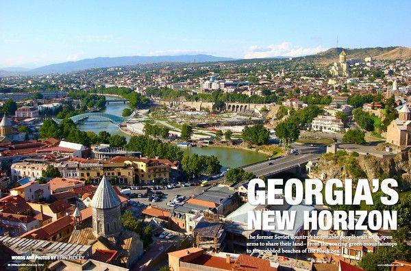 #Georgia's New Horizon #travel - by @Erin: Wildjunket Magazine, Horizon Travel, Georgia Article
