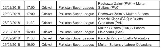 Live stream the Pakistan Super League at bet365  Posted via Anja on February 21 2018  Its time for the Pakistan Tremendous League (PSL) to kick off. Take a look at our having a bet pointers after which watch and wager over at wager365 for all upcoming occasions.  Reside streaming the PSL  As youre unquestionably conscious the Pakistan Tremendous League is ready to kick off and its one cricket match you dont need to omit. Because of time zone variations you would possibly not at all times be…