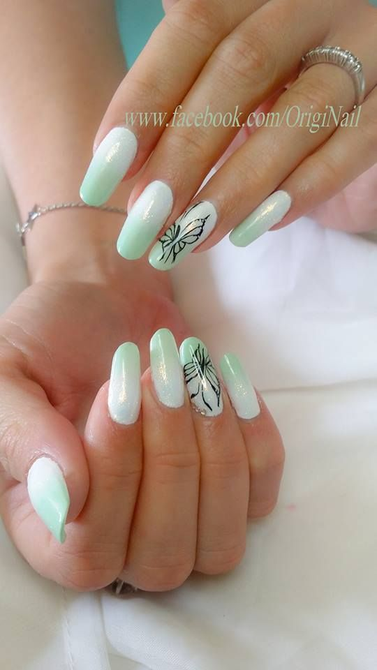 by Stephanie Nailart - Find more inspiration at www.indigo-nails.com #nailart…