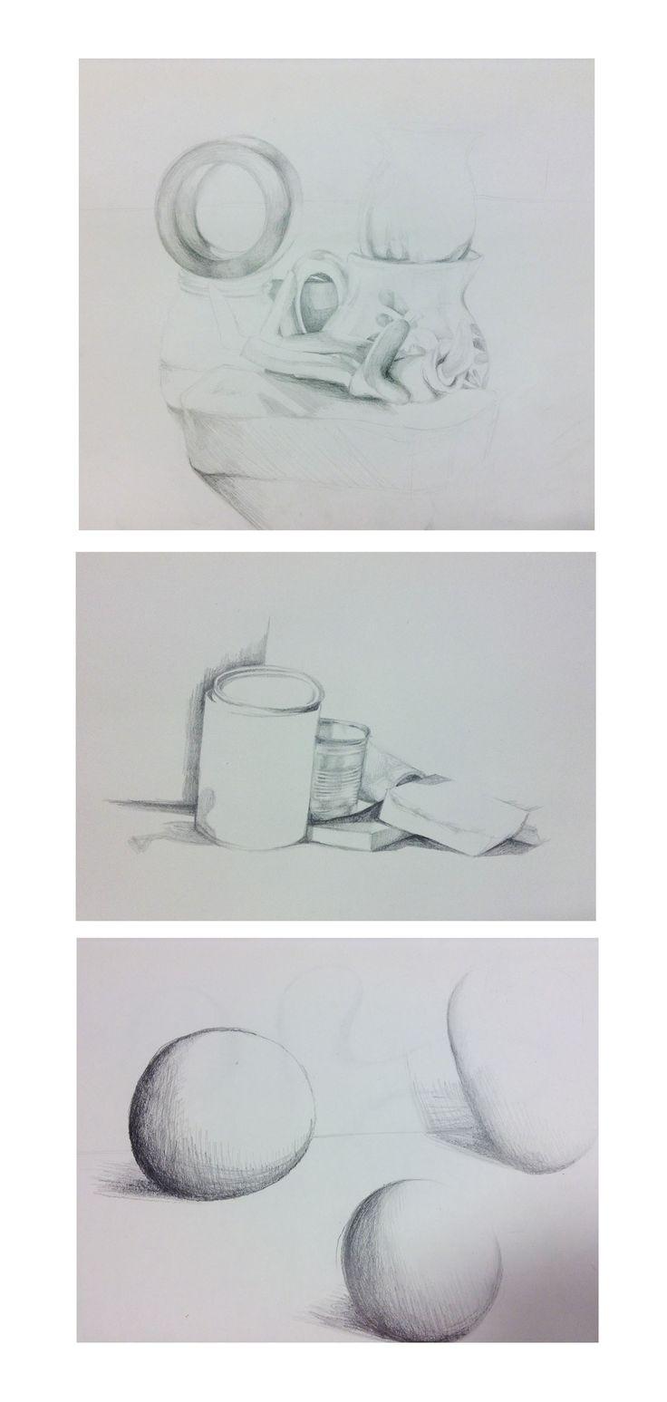 Task 11 - Still life drawings / tones