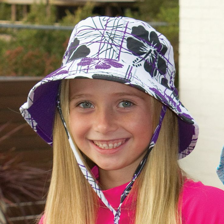Reversible Microfibre Swim Hat Prints on one side; plain on the other in this best selling swim hat. Toggle under chin for security with adjustable head size. Sizes: 52cm, 55cm or 57cm.  RRP: $27.95   https://rigon-headwear.myshopify.com/collections/kids/products/b715-reversible-microfibre-swim-hat