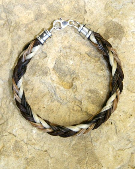 How to make a horse hair bracelet craft ideas pinterest for What can you make out of horseshoes