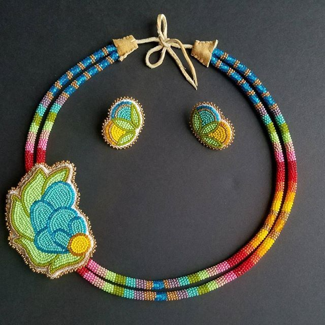 Happy National Aboriginal Day and a set I made in May.