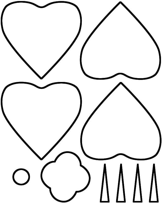 poppy template   copyright www.BigActivities.com