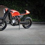 KTM 525 EXC cafe racer by Roland Sands Design. I would love to do something like this.