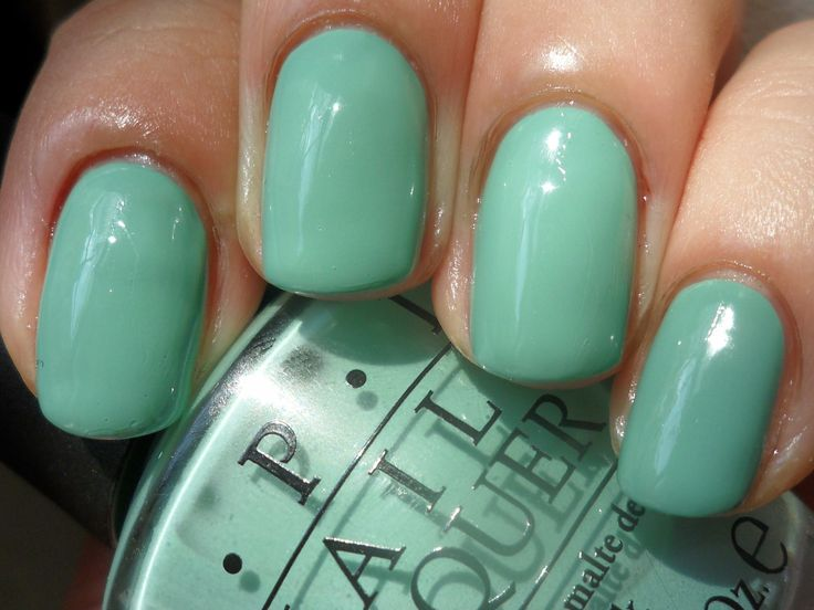 Opi Mermaid Tears From The Pirates Of Carribean Line Perfect Summer Color