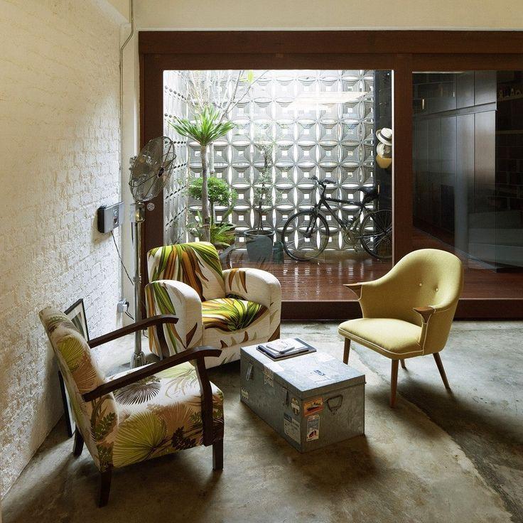 Кирпичный лофт в Сингапуре от студии Farm - Дизайн интерьеров | Идеи вашего дома | Lodgers