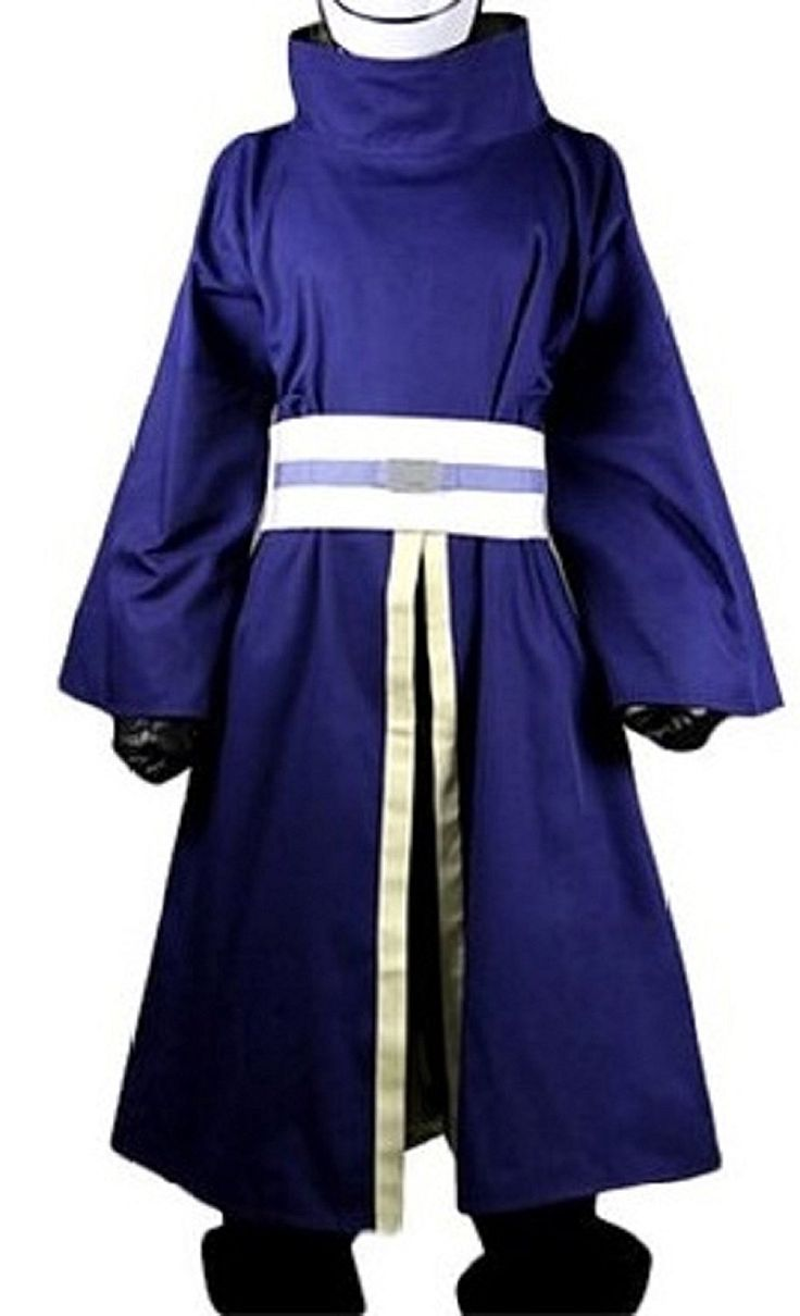 Fantasy_Outlet Naruto Uchiha Madara Suit Cosplay Costume (M) -- More info could be found at the image url.