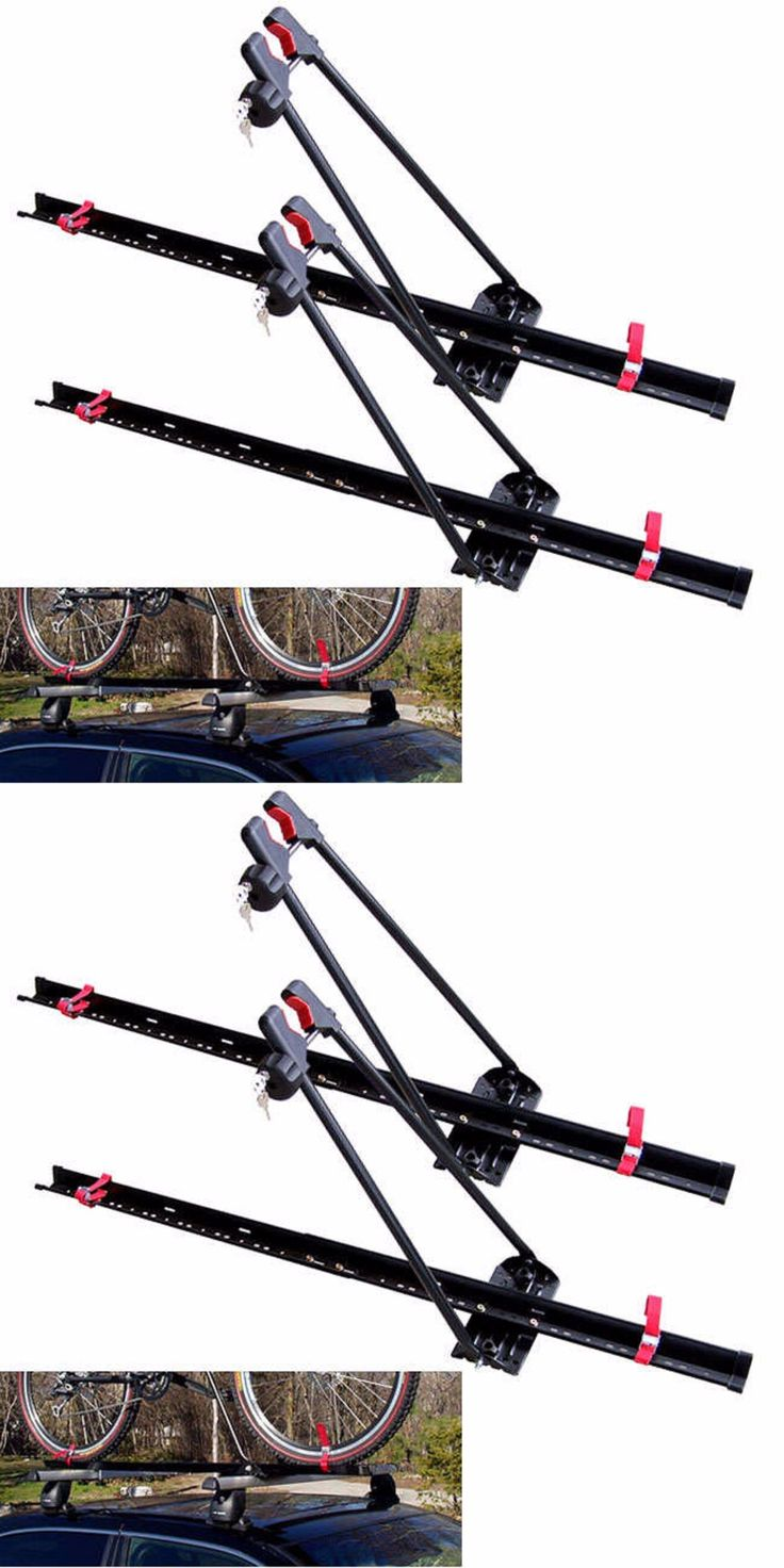 Car and Truck Racks 177849: Bike Rack For Car Roof Bicycle Universal Mount Locking Upright Mountain Set Of 2 -> BUY IT NOW ONLY: $85.95 on eBay!