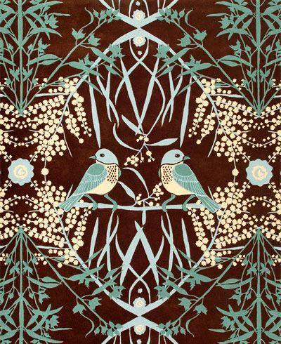 Catherine Martin  Australiana Suite Acacia rug from Designer Rugs.