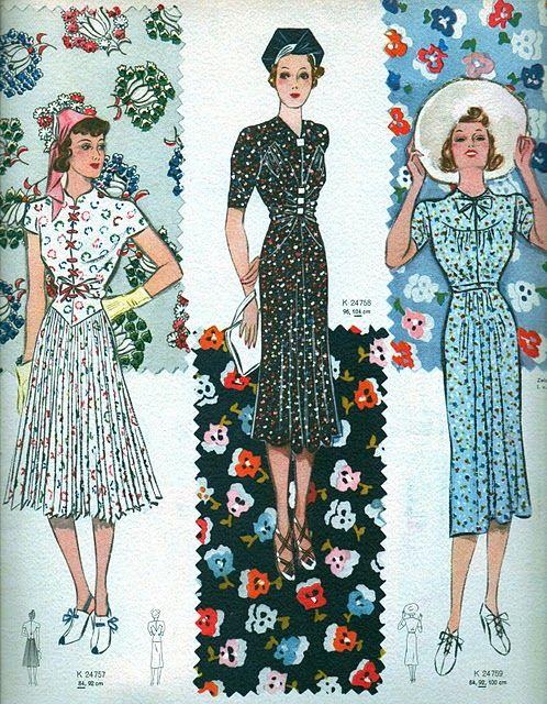 1938 Dresses
