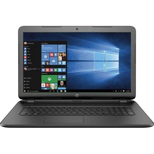 "HP - 17.3"" Laptop - AMD A10-Series - 6GB Memory - 1TB Hard Drive - Black"