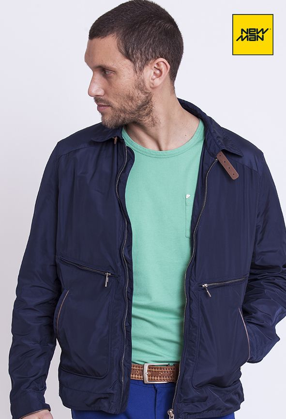 New Man LookBook S/S'15 #Jacket #Color #Casual