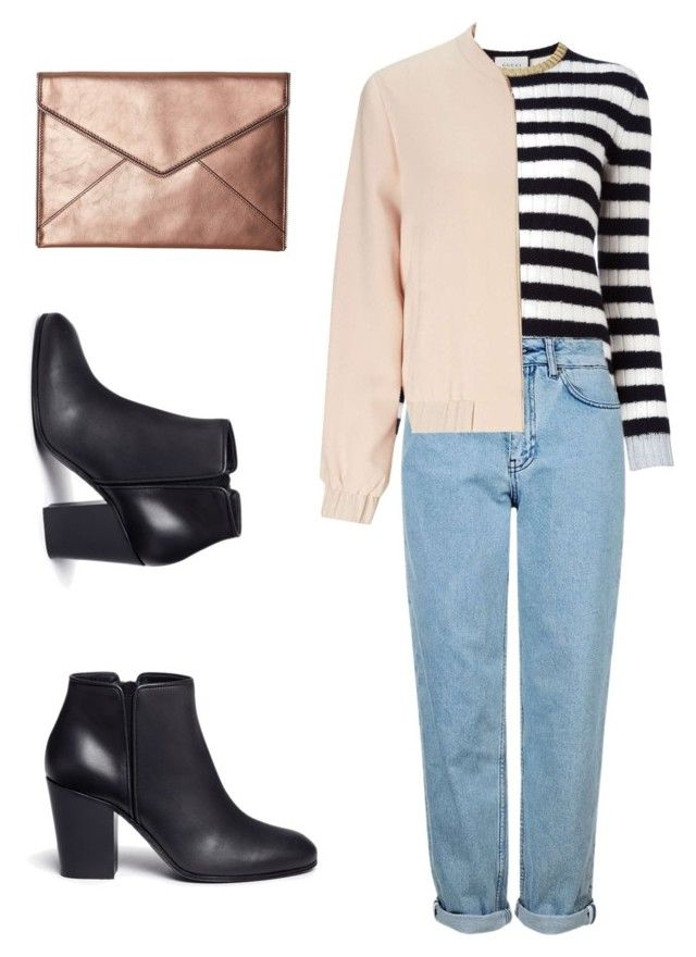 """Cool"" by malin1234 on Polyvore featuring Gucci, Topshop, Miss Selfridge, Giuseppe Zanotti and Rebecca Minkoff"
