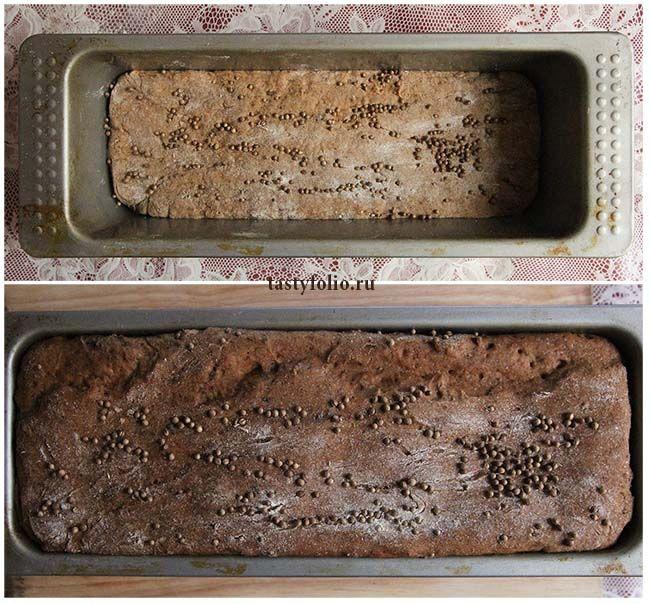 Бородинский черный хлеб (бездрожжевой)   Кулинарные заметки Tasty Folio
